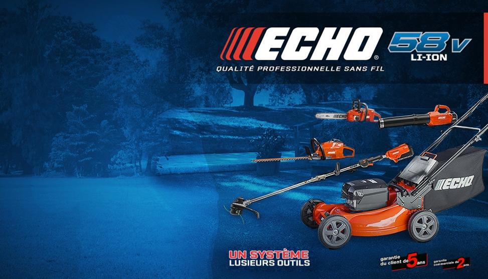 Équipements saisonniers Echo